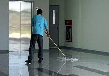 Commercial cleaning service.