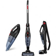 Deik Vacuum Cleaner, 2 in 1 Cordless Vacuum Cleaner, Lightweight...