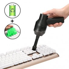 Cordless Keyboard Cleaner, MECO Powerful Rechargeable Vacuum Cle...
